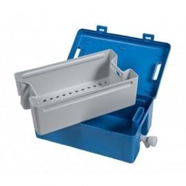 Instrubac 20l robinet + panier + couvercle plein - Non Autoclavable. Prix unitaire