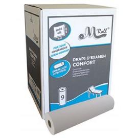- Drap d'examen 35x50 cm - 9 rouleaux / carton