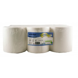 Essuie-mains 2 plis en continu autocut - 150 m - 6 Rouleaux