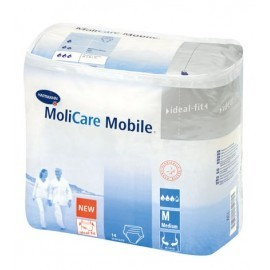 Slips absorbants - MoliCare Mobile Jour - Large - Carton de 56 pièces