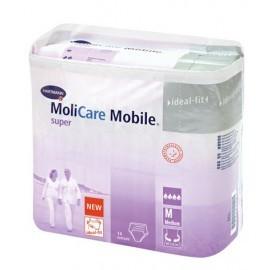 Slips absorbants - MoliCare Mobile - Nuit - Small - Carton de 56 pièces