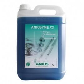 Aniosyme X3. Bidon de 5l avec pompe doseuse. 4x5 l